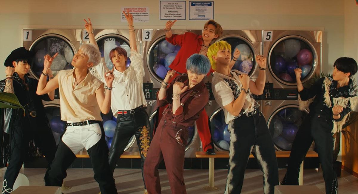 """BTS: ¿Cómo participar en el """"Permission to dance challenge""""?. Foto: Youtube HYBE LABELS"""