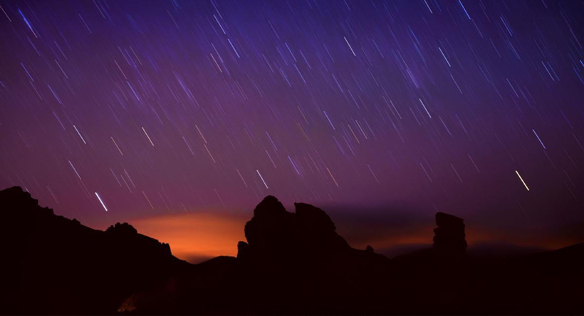 ¿Cómo ver la lluvia de estrellas de agosto?. Foto: Shutterstock
