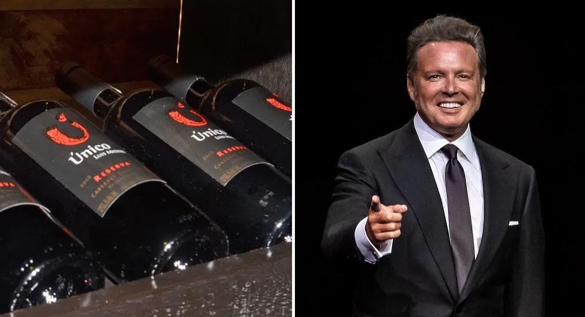 """Dónde y a cuánto adquirir """"Único"""", el vino de Luis Miguel. Foto: Instagram @lmxlm"""