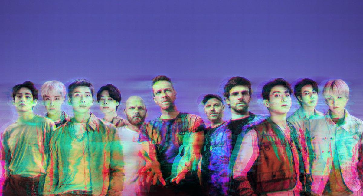 """""""My Universe"""" de BTS y Coldplay: ¿Qué dice la letra en español?. Foto: Twitter @coldplay"""